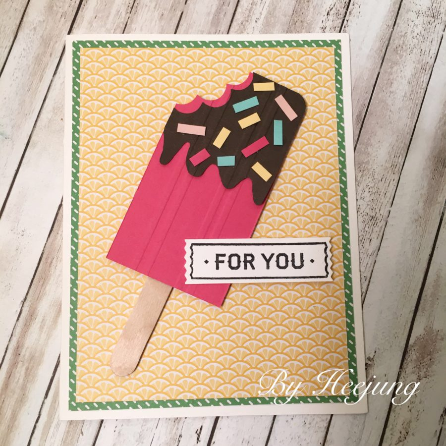 Popsicle card 1