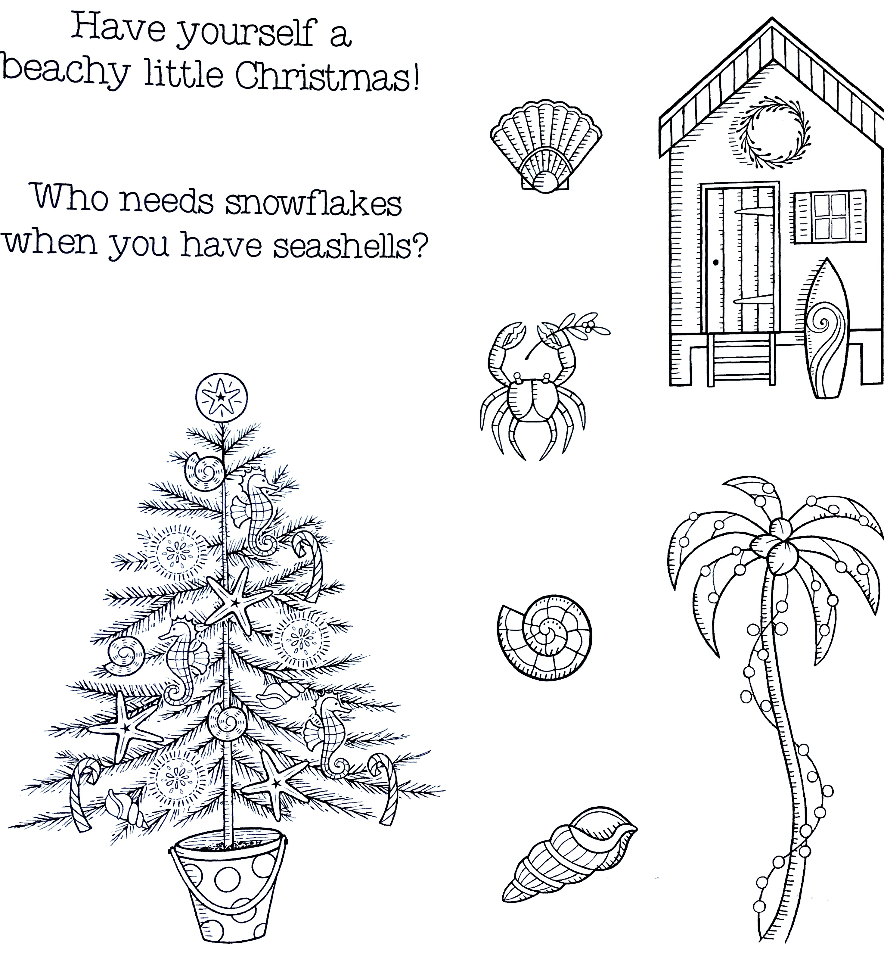 When Is Little Christmas.Beachy Little Christmas 3 H Made Boutique