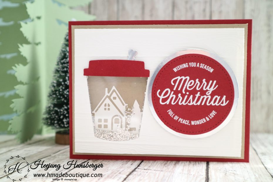 Coffee Christmas Cards.Coffee Cup Christmas Card H Made Boutique